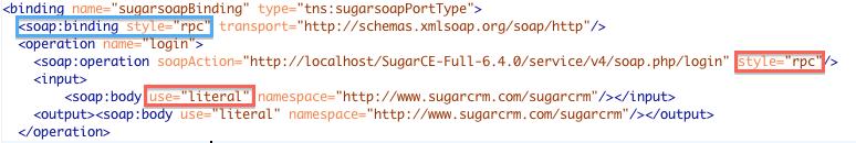 SugarCRM Web Services: Build a Apache CXF Client